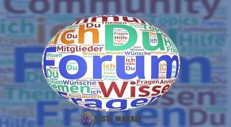 Forum Sitesi Nedir? Nasıl Açılır?