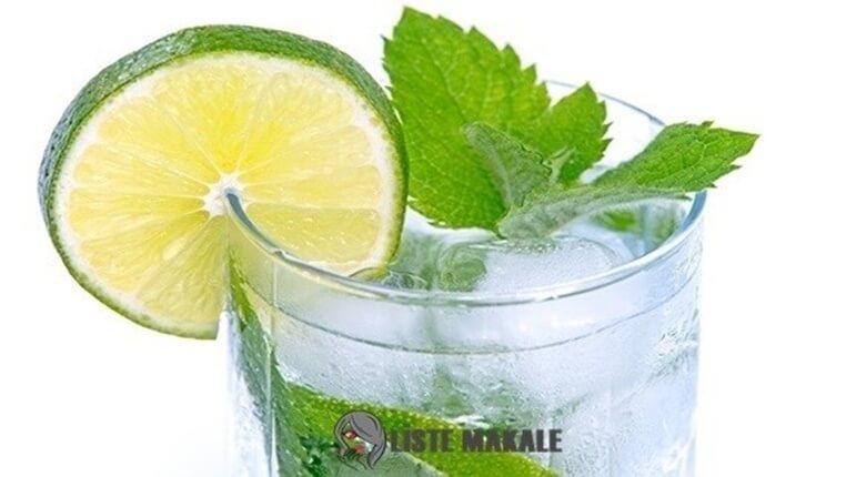 Limonlu Suyun Faydaları Nelerdir? Zayıflatır mı?