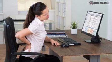 Sürekli Oturarak Çalışanlar Neler Yapmalıdır?