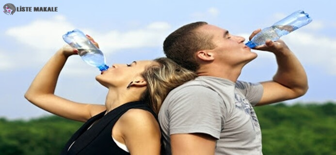 Sporcular için su tüketmek de önem taşıyor