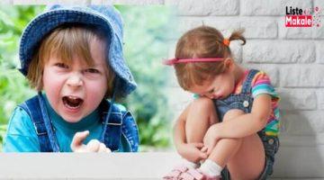 Çocuklarda 3 Yaş Sendromu İçin Gardınızı Alın