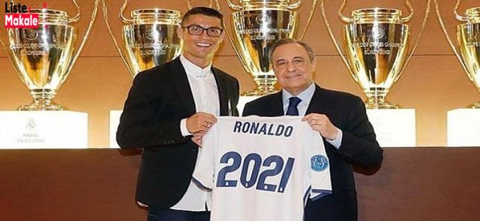 Futbolun Yıldızlarından Cristiano Ronaldo