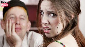 Kadınların Sevmediği Erkek Davranışları