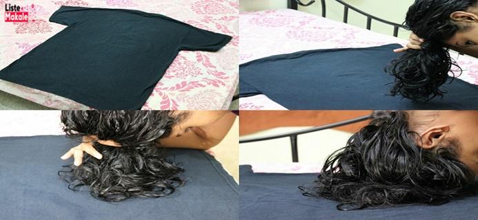 Saça Bukle Yapma Yöntemleri Nelerdir? Hair Plopping Nasıl Yapılır?