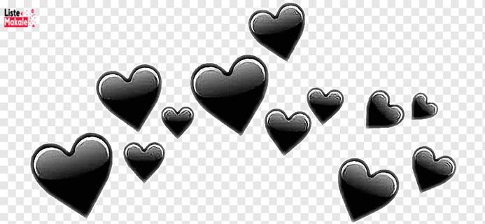 Siyah Kalp Anlamı Nedir? Siyah Kalp Ne Anlama Gelir?